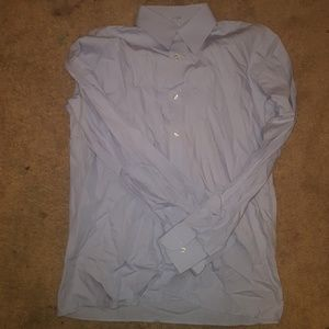 Other - Ragazzo uomo Mens Dress Shirt Blue Size 18R